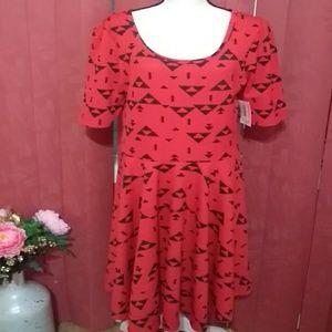 Black & Red NWT dress from LuLaroe